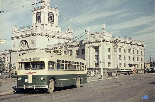 Старый вокзал. Волгоград.