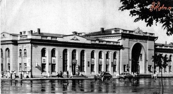 Старый вокзал. Николаев.