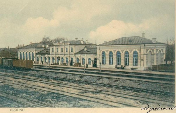 ЖД вокзал в Гродно.
