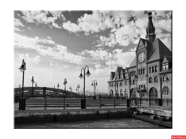 Старый вокзал. Санкт-Петербург.