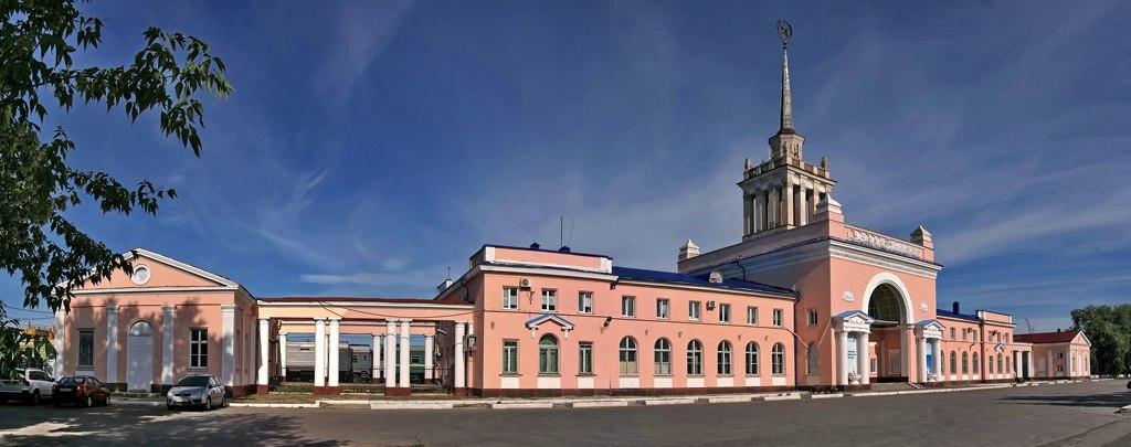 Старый вокзал. Ульяновск.