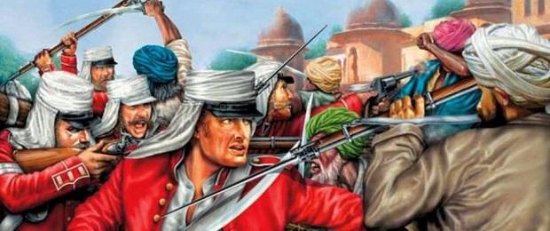 Восстание сипаев. Индия.