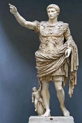 GAIUS LULIUS CAESAR OCTAVIANUS AUGUSTA RAURIK.