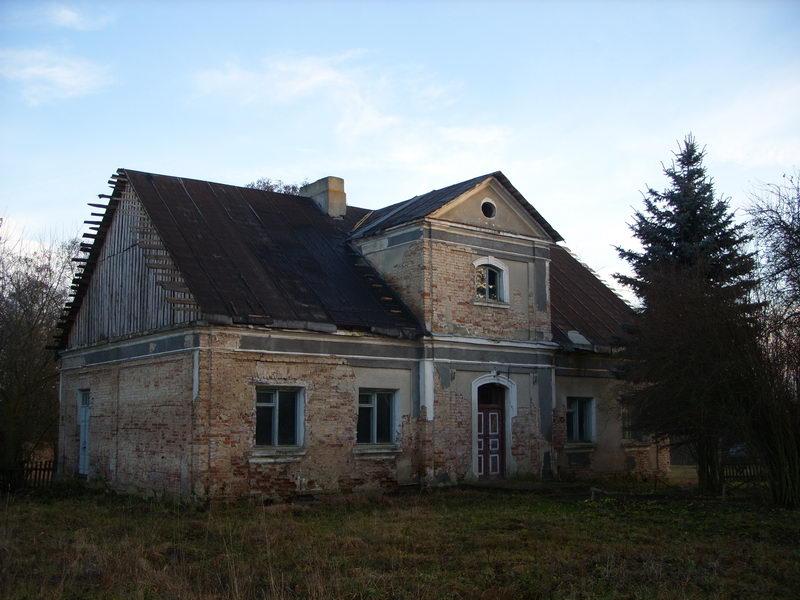 Самое старое здание в Волчине.