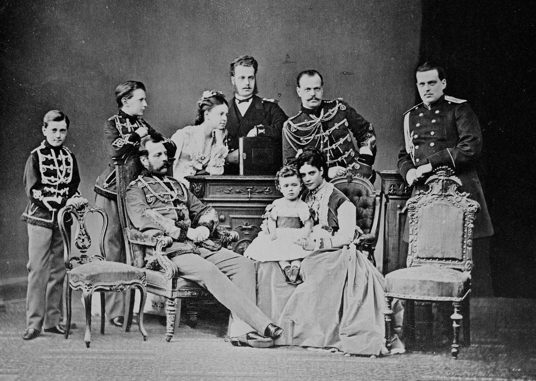 Фотомонтаж во времена Александра Второго.