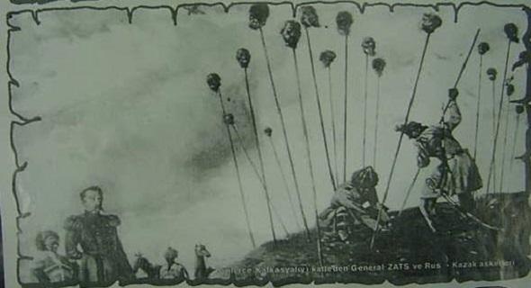 Кавказская Война 1864 года.