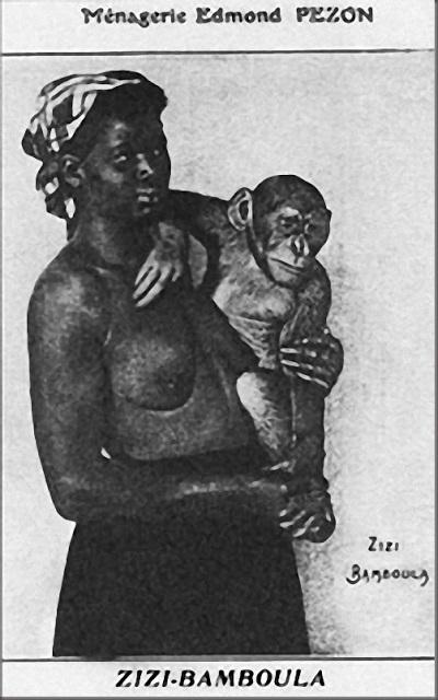 Негры-обезьяны.