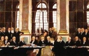В Версале подписан прелиминарный мирный договор между Германией и Францией, 1871 год.