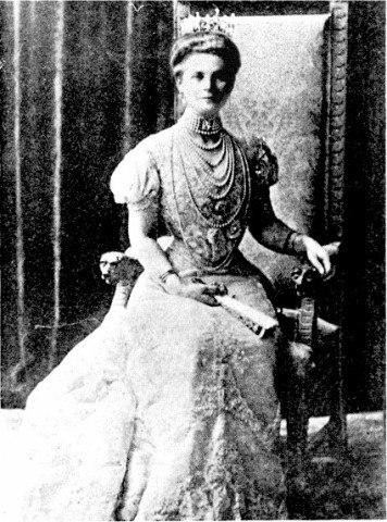 Юсупова, жена Эльстона.
