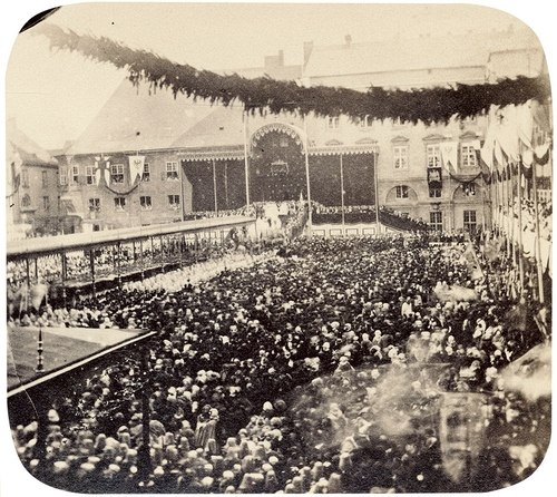 Coronation ceremony of the King of Prussia