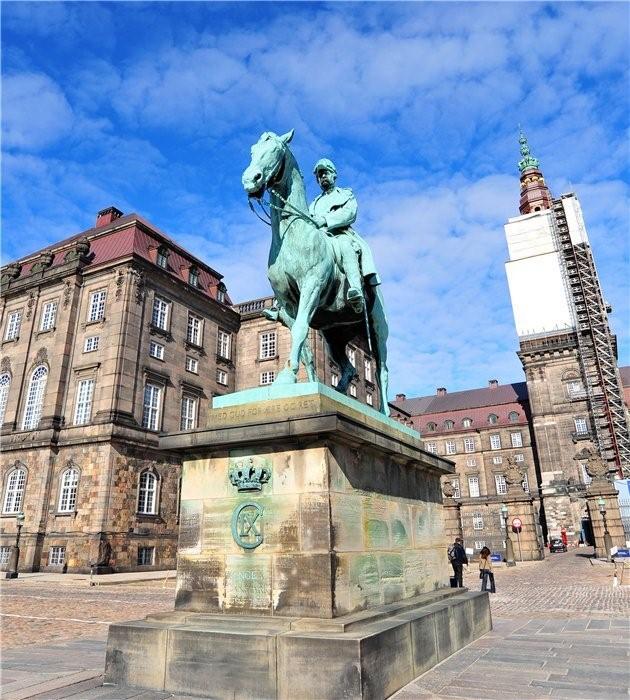 Король Дании Кристиан IX.