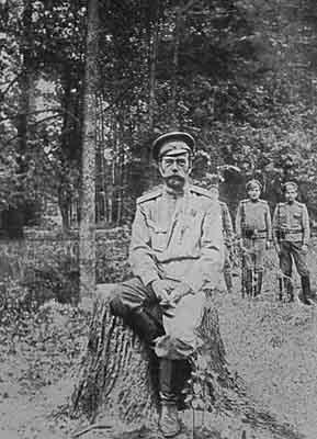 Расстрел Романовых.