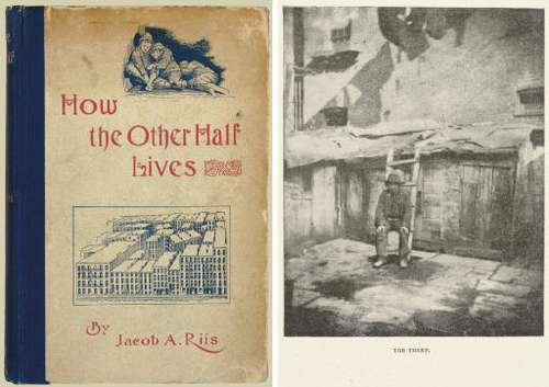 an analysis of how the other half life and the life of jacob riis Jacob riis' how the other half lives is one of the most important american texts ever composed originally published without pictures, it exposes the statistics of how poor the gilded age poor really were.