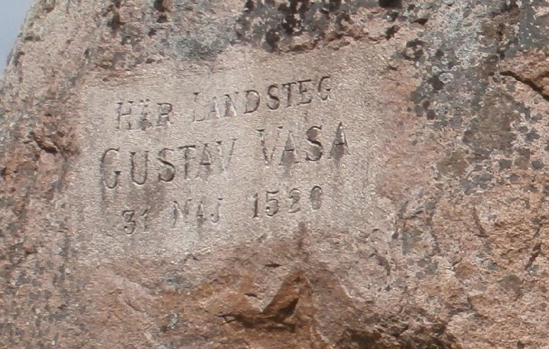 Памятник Шведскому королю Густаву IV Адольфу Ваза.