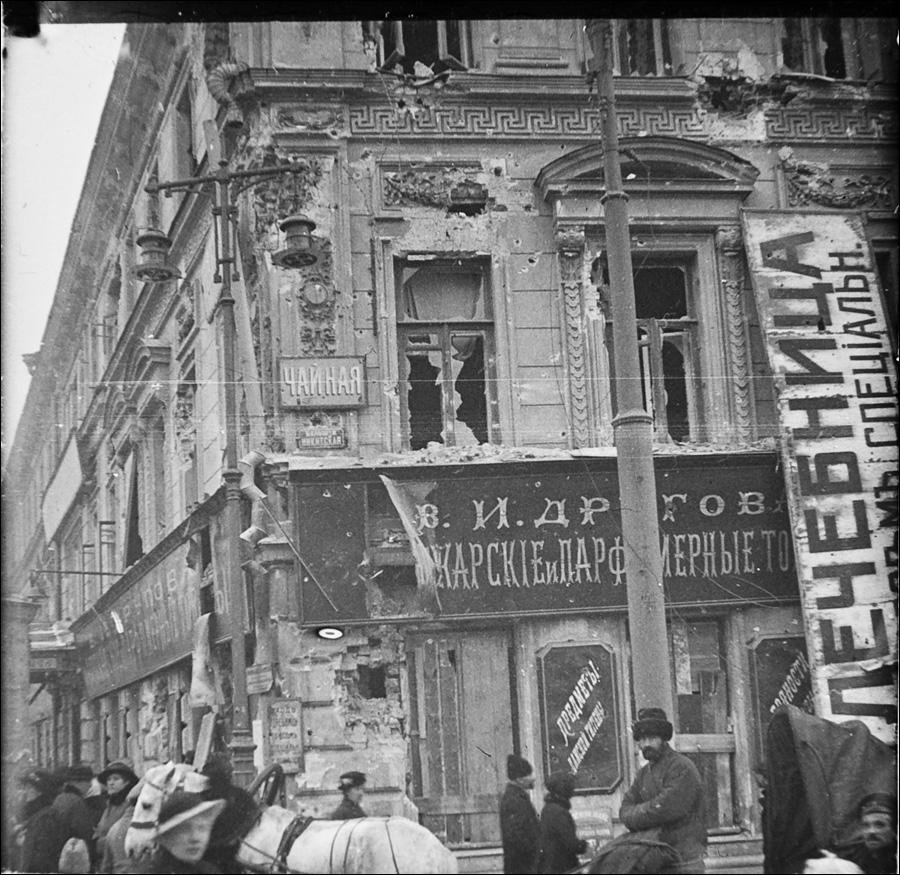Революция в Москве.