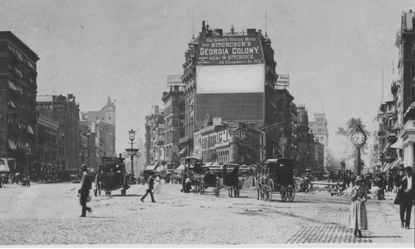 Старый Нью-Йорк.