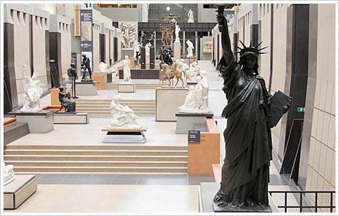 Статуя Свободы в Париже. Музей д'Орсэ.