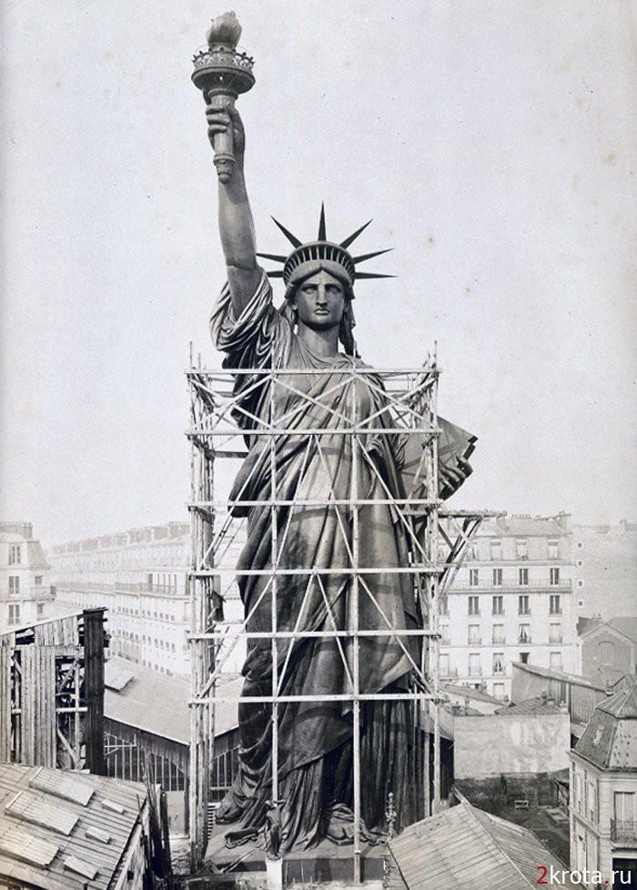 Статуя Свободы: 127 лет в американской истории.
