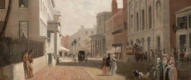 Великий пожар в Бостоне 1872 года.