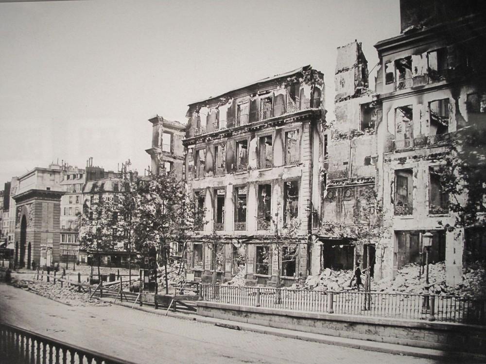Париж 1871 года.