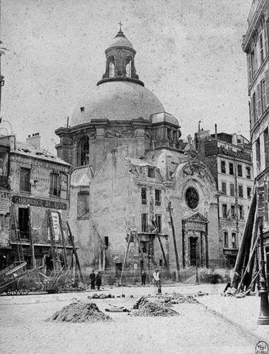 Париж 1870 года.