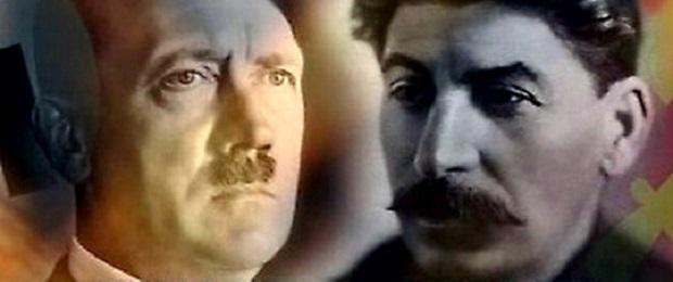 Гитлер и Сталин.