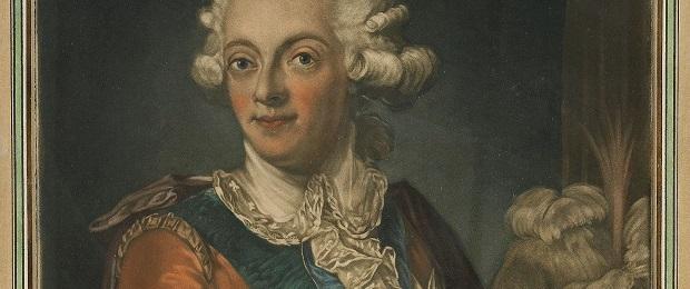 Густав III и его жена с комментариями.