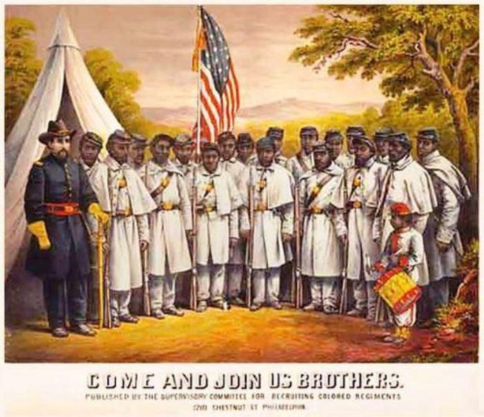 Негры в Гражданской войне.