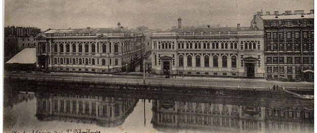 Утонувшие дома Петербурга.