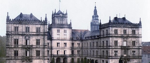 Замок Эренбург - город Кобург. Германия.
