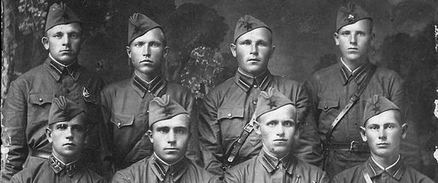 В память моей службы в красной армии 1937 год.