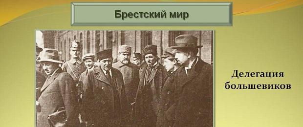 Большевики официально признавали свою оккупацию России.